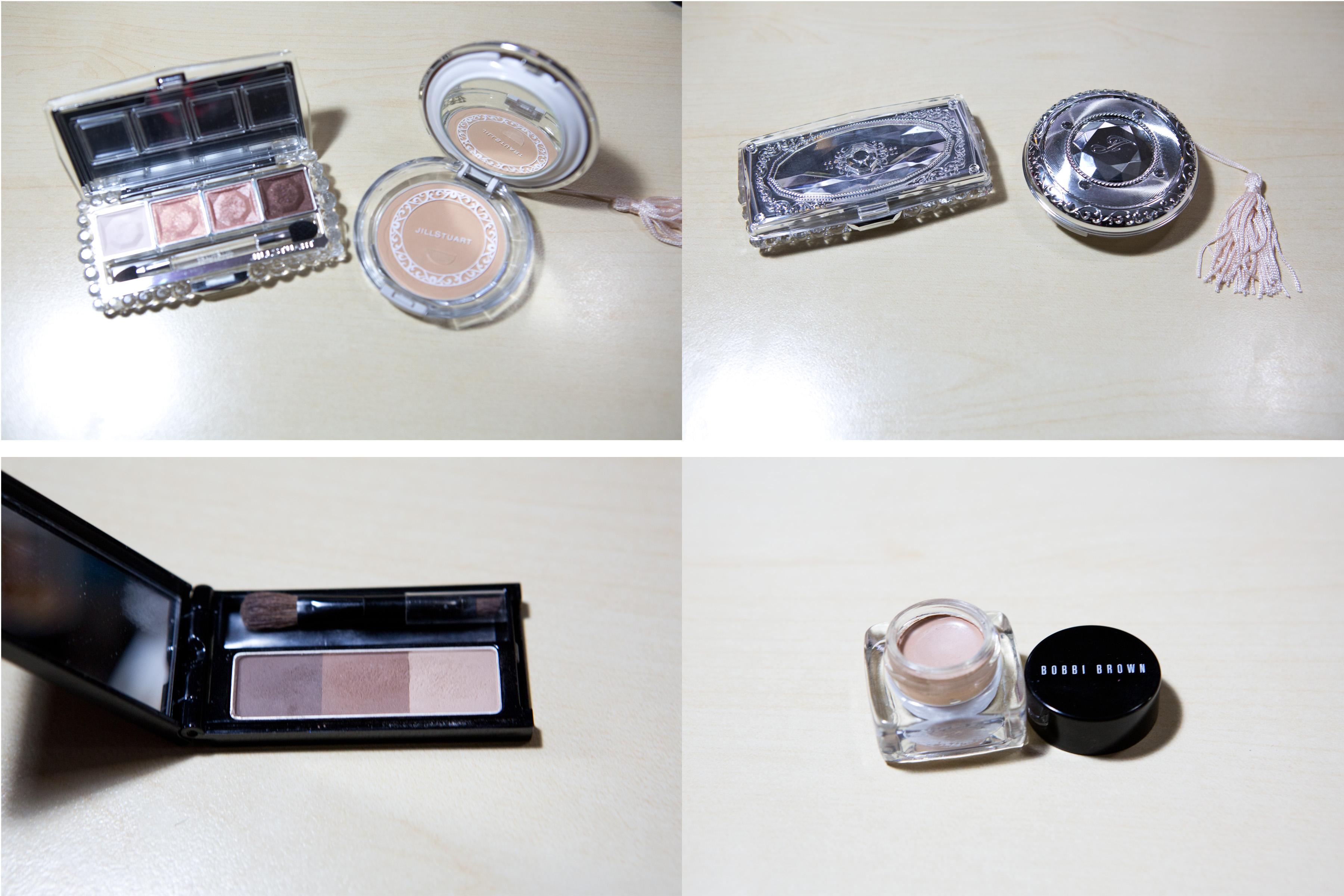 Jill Stuart The Photojaneic 3 Beauty Gel Liner Black Pic 1 Eyeshadow In 01 Nudy Venus I Love It Sooo Much And Pressed Powder 103 Nude